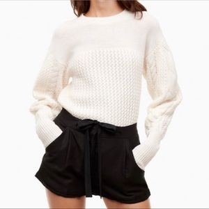 Black Wilfred With Linen Shorts